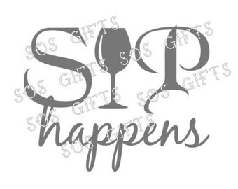 SIP Happens decal