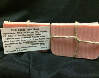 Pink Sands Type Soap