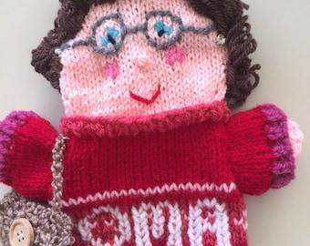 Grandma handpuppet, Granny poppenkastpop