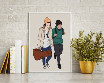 You're All I Need - One Direction Print - Larry Stylinson - Harry Styles - Louis Tomlinson