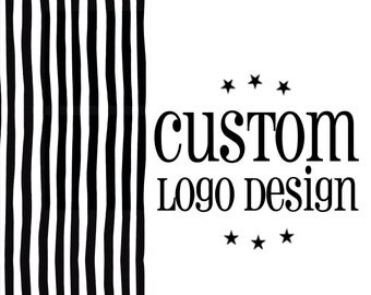 Custom LOGO DESIGN For Photographer Small Business Branding Circular Logo Design Photography Watermark Premade Logo Design Handmade