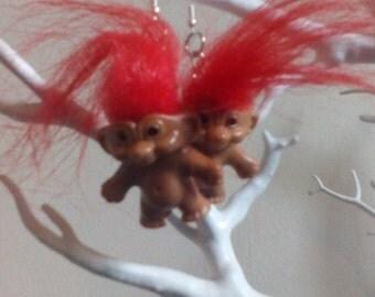Trolls earrings