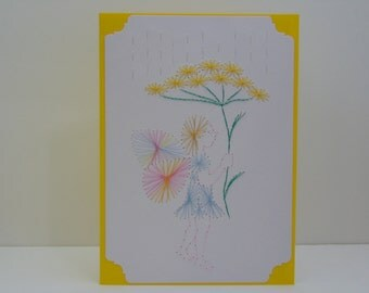 Fairy in the Rain Greeting Card