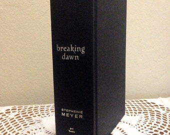 "Hollow Book Safe - ""Breaking Dawn"""