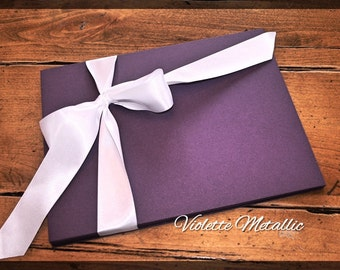 Paper,  card stock, Curious Metallics, shimmery, invitations, scrap booking, Blank - 8 1/2 x 11 Pack of 50 or 100, Violette Metallic purple