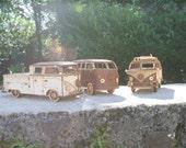 Laser cut VW Bus campervan camper van