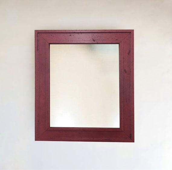 Cherry Wood Framed Wall Mirror 8x10 11x14 16x20 24x26 24x36