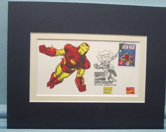 Marvel Comics Hero Iron Man and the Avengers and the Iron Man First Day Cover