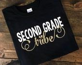 Teacher Tribe T-Shirt, Teacher TShirt, Teacher Tribe, Teacher Team Shirts, First Grade Tribe Shirt, Teacher Shirt, Custom Teacher Shirts