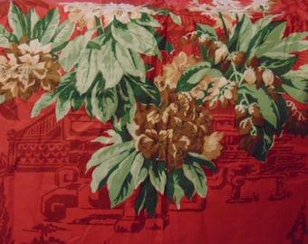 Jardiniere Fabric, Hand Print Fabric, Elegant Fabric