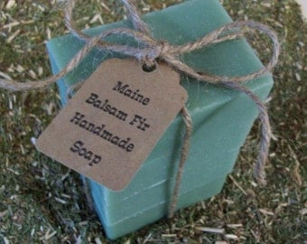 Maine Balsam Fir Soap Bars
