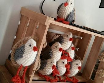 Hand Knitted Seagull | Home Decor | Beach Hut | Seaside Decor | Beach Wedding | The Little Songbird Knitting Co.