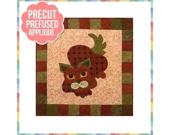 StrawPurry - Laser Cut Pre Fused Applique Quilt Kit