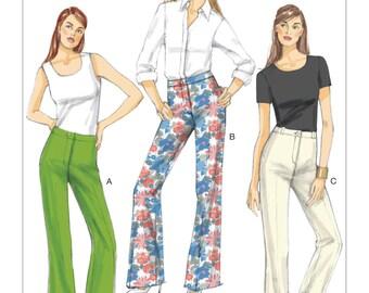 Vogue Pattern V9181 Misses' Custom-Fit Bootcut Pants