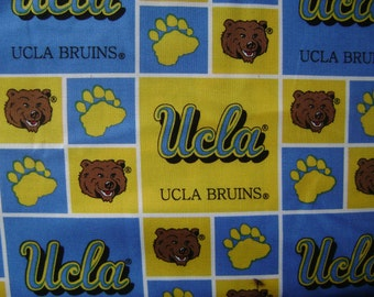 UCLA Bruins Cotton Fabric Sold by the Yard