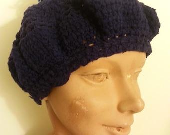 Navy Knit Hat