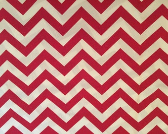 Fabric choice for Concealed Carry Handbag Red Chevron