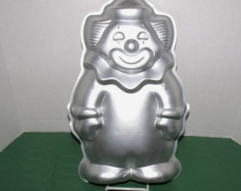 Vintage Wilton Cake Pan Clown #2105-9401 - 1986