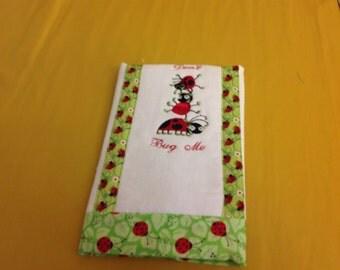 Diaper Burp Cloth-Bugs