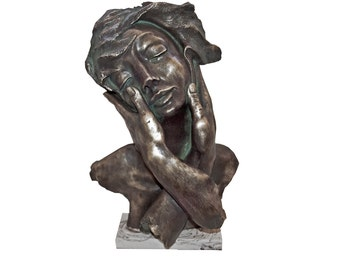 SOFT (181). Electrolytic bronze sculpture