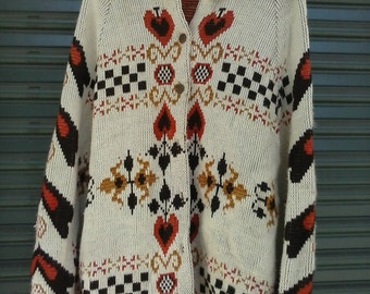 Women's 70's Shawl L