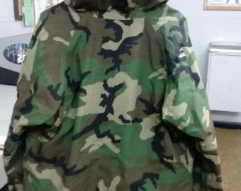 Army Camo Rain Gear (M)