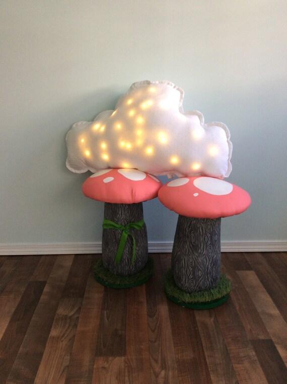 Mushroom Stool ADULT Chair Seat Toadstool Toadstools,19 inch, Desk Height Pink Stool