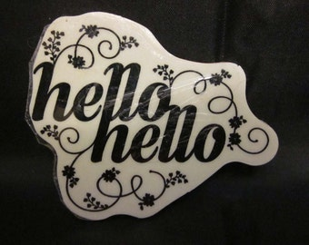Stampin' Up! Hello Hello Stamp in Clear Mount