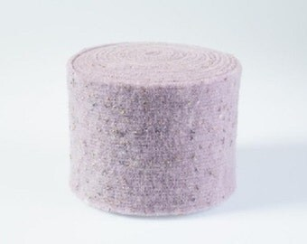 Lilac felt from Lehner Wolle Felt
