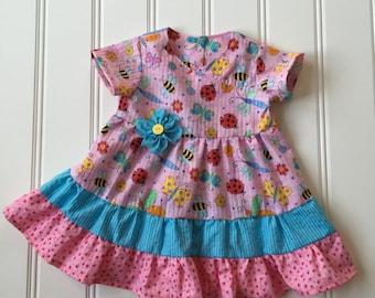 Dress for Baby, Baby Girl Dress, Little Girl Dress, Toddler Dress, Girl Summer Dress, Twirl Dress, Baby Dress, Toddler Girl Clothes
