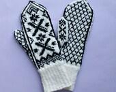 Norwegian gloves, fair isle gloves, Norwegian mittens, fair isle mittens, Estonian mittens, Scandinavian gloves, hand knit wool gloves