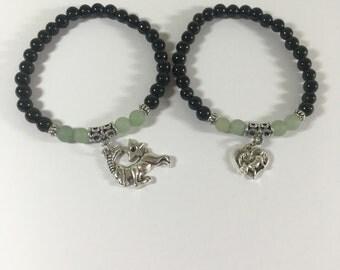 Dragon Tears Goat bracelet - Portion of proceeds to benefit GOA