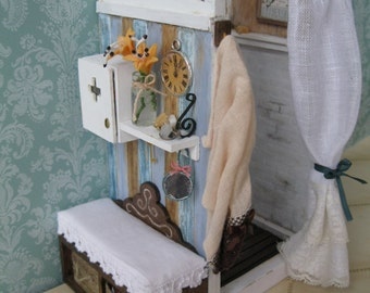 Shower miniature dolls houses