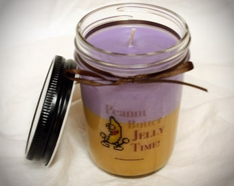 Peanut Butter Jelly Time! scented candle