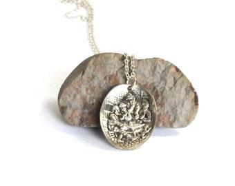 pub necklace, party necklace,  medeival  necklace,  spoon necklace