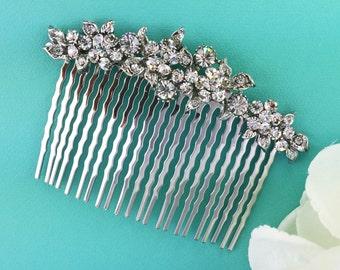 Crystal Wedding Comb, Rhinestone Comb, Bridal Comb pearl, Wedding Crystal Hair Comb, Hair Comb, Wedding Accessory, Bridal Headpiece, Bridal