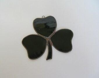 Suncatcher  Clover Leaf  Vintage