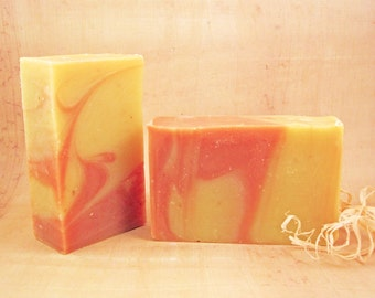Grapefruit Ginger Chamomile Soap