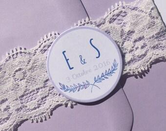 20 TAGS Lavender 4 cm