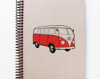 Vw Campervan Series Spiral Notebook 1
