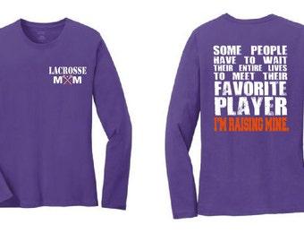 Lacrosse Mom Shirt Lacrosse Shirt Lacrosse Coach Gift Girls lacrosse Lacrosse Gifts Personalized Lacrosse Team Gift Lacrosse Player Lax