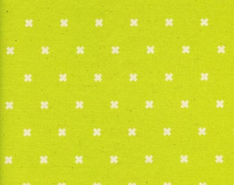 Cotton Fabric - Cotton + Steel - XOXO in Lightning from the Basics Collection