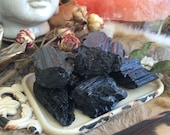 Natural Black Tourmaline Chunks- Black Tourmaline