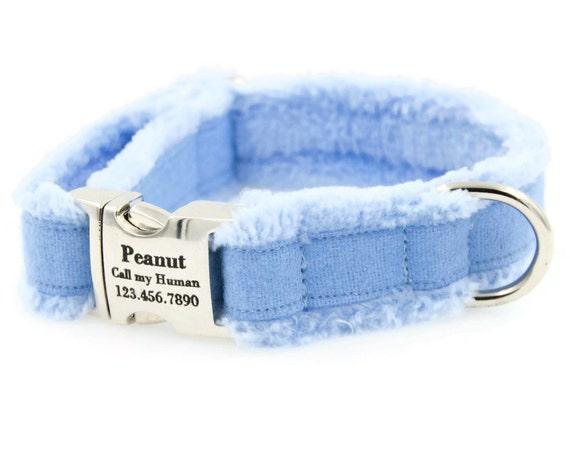 Personalized Hemp Dog Collar