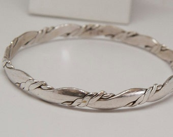 "Elegant sterling silver bracelet ""925"", Native American"
