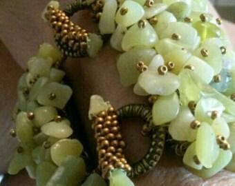 Jaded bracelet
