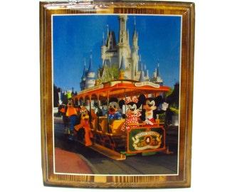 Vintage Disney World Decoupage- Walt Disney Productions