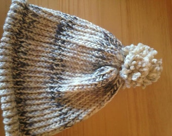 Adult wool knitted hat