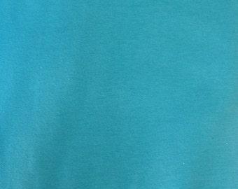 Pagoda Blue Cotton Spandex Jersey Knit 10 oz Fabric by the Yard #413