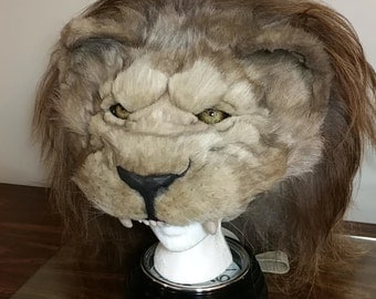 African Lion Headdress